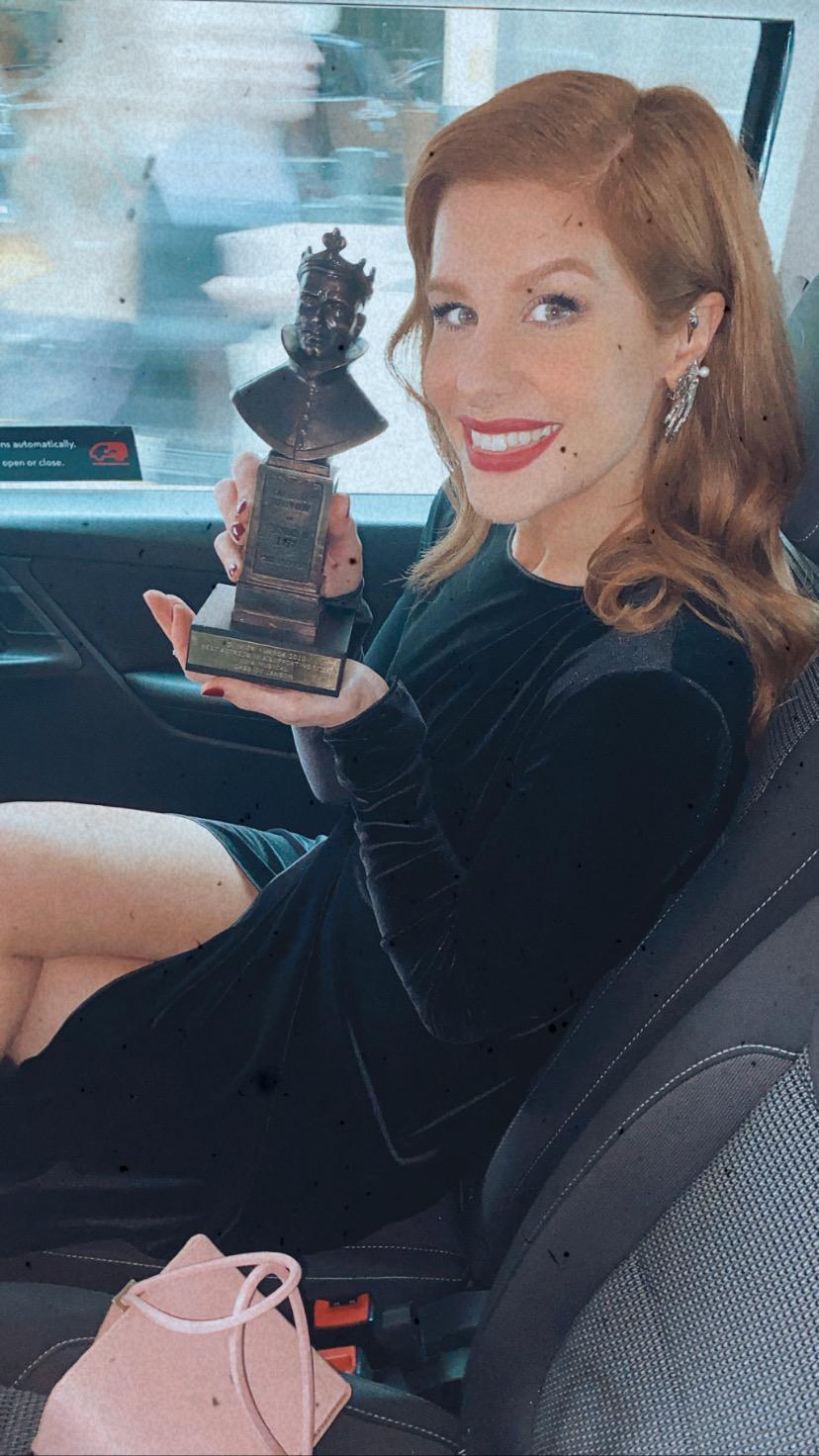 Cassidy Janson Olivier Awards Winner 2020